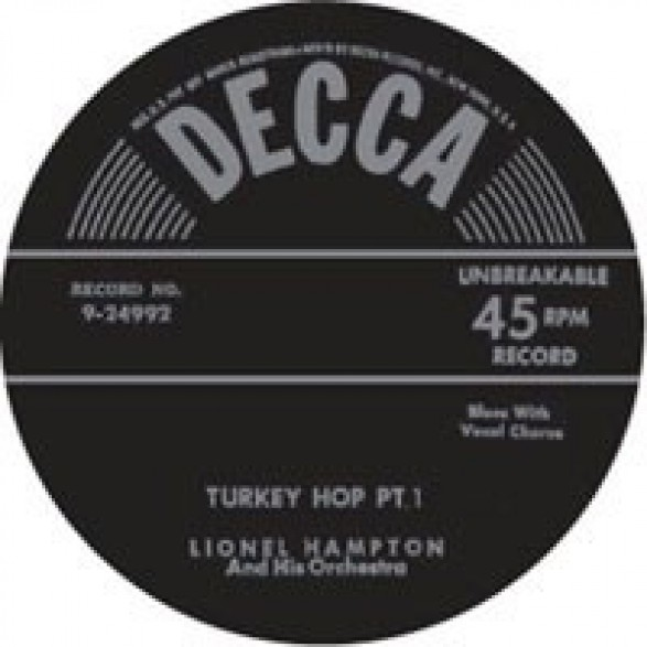 "LIONEL HAMPTON ""TURKEY HOP Parts 1 & 2"" 7"""