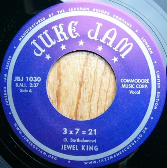 """JEWEL KING """"3x7=21 / I'LL GET IT"""" 7"""""""