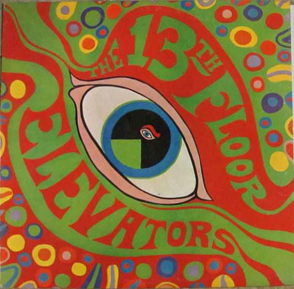 "13th FLOOR ELEVATORS ""THE PSYCHEDELIC SOUNDS OF"" LP"
