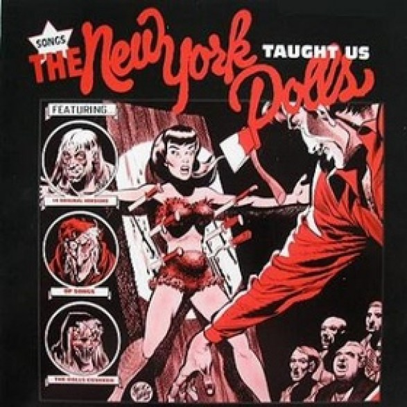 SONGS THE NEW YORK DOLLS TAUGHT US LP