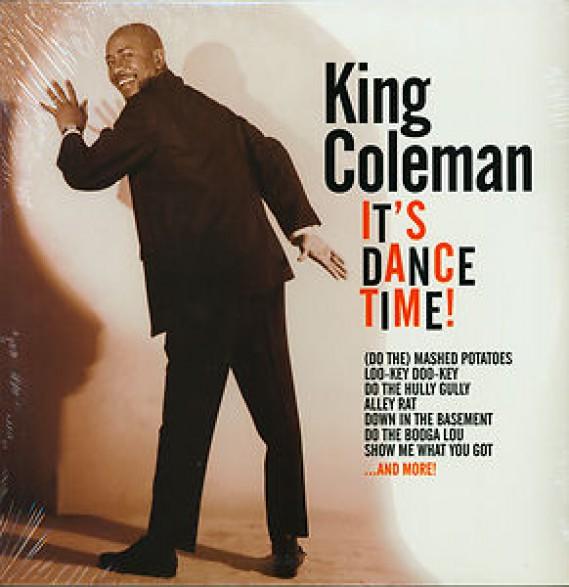 """KING COLEMAN """"IT'S DANCE TIME"""" LP"""