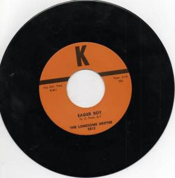 "LONESOME DRIFTER ""EAGER BOY/Teardrop Valley"" 7"""
