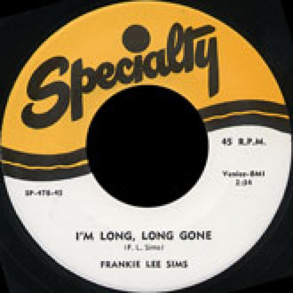 """FRANKIE LEE SIMS """"MARRIED WOMAN/I'M LONG LONG Gone"""" 7"""""""
