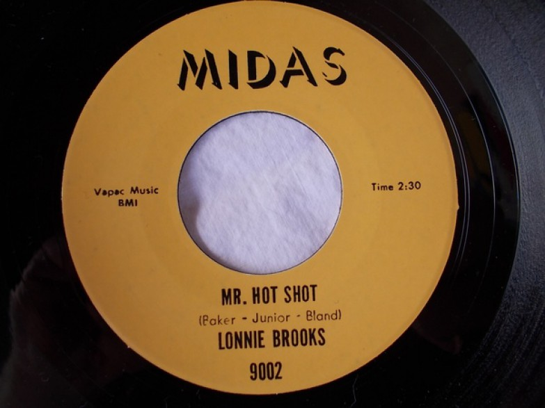 "LONNIE BROOKS ""MR HOT SHOT/THE POPEYE"" 7"""
