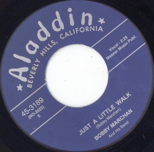 """BOBBY MARCHAN """"JUST A LITTLE WALK / HAVE MERCY"""" 7"""""""
