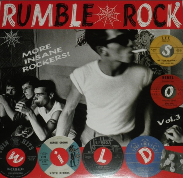 RUMBLE ROCK VOLUME 3 LP