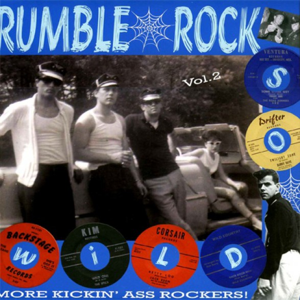 RUMBLE ROCK VOLUME 2 LP