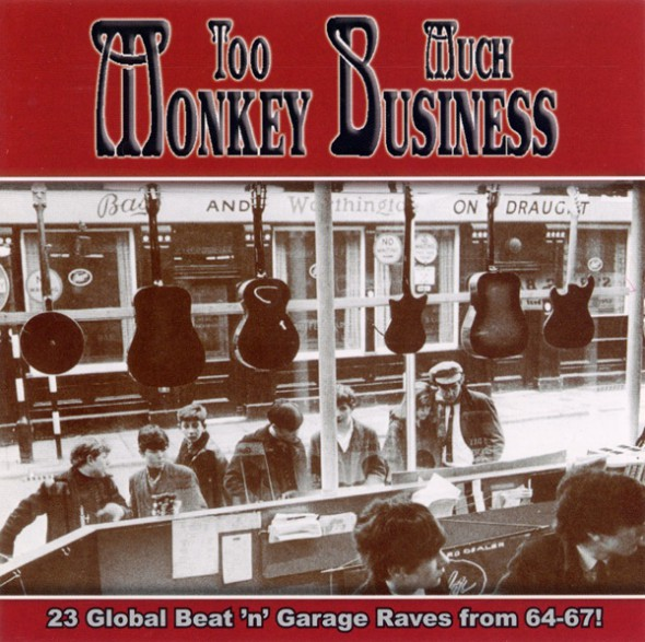 TOO MUCH MONKEY BUSINESS CD