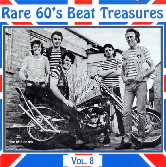 RARE 60S BEAT TREASURES VOLUME 8 CD