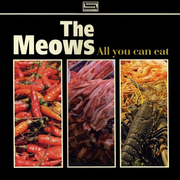 """MEOWS """"ALL YOU CAN EAT"""" CD"""