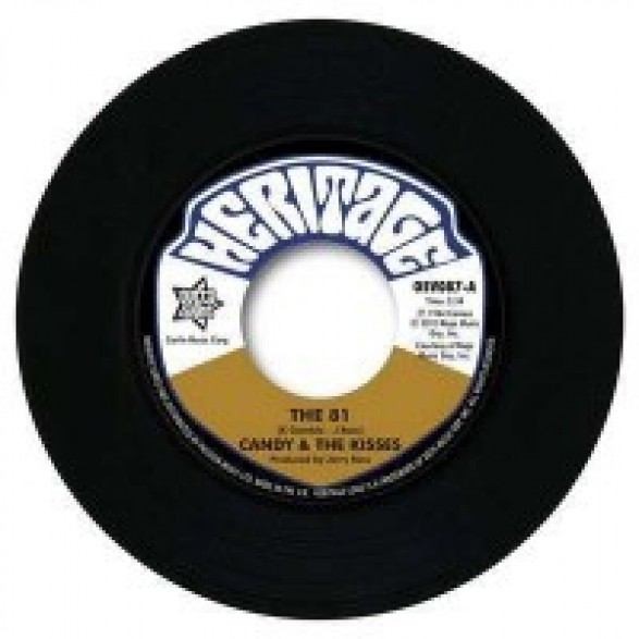 "CANDY & THE KISSES ""The 81 /Fathers Angels Bok To Bach"" 7"""