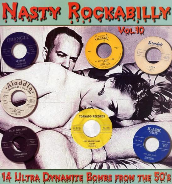 NASTY ROCKABILLY Volume 10 LP