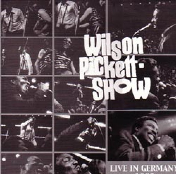 "WILSON PICKETT ""LIVE IN GERMANY 1968"" LP"