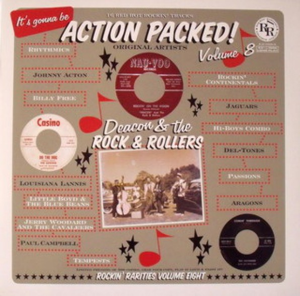 ACTION PACKED VOLUME 08 LP