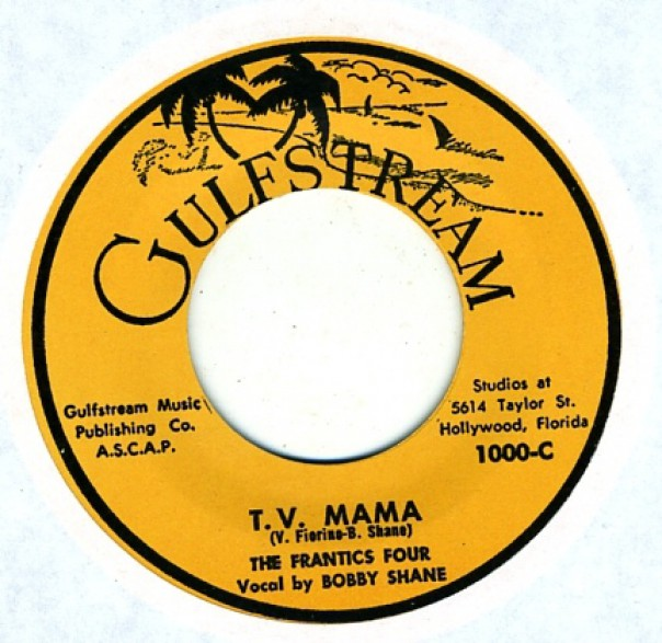 "Frantics Four ""T.V. Mama / Down By The Old Mill Stream"" 7"""