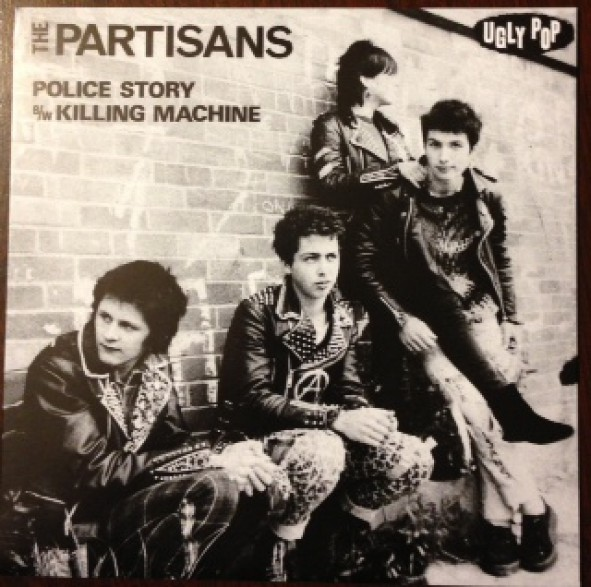 "PARTISANS ""Police Story / Killing Machine"" 7"""