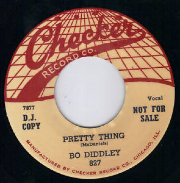 "BO DIDDLEY ""PRETTY THING/BRING IT TO JEROME"" 7"""