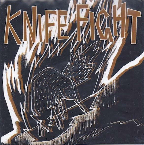 "KNIFE FIGHT ""GOD DAMN/ UGLY"" 7"""