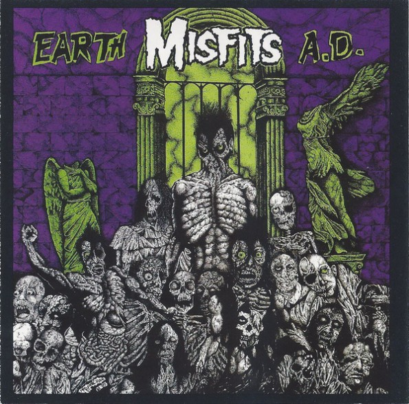 "MISFITS ""EARTH A.D."" CD"
