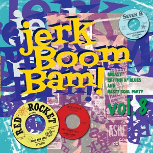 """JERK BOOM! BAM! """"Volume 8"""" LP"""
