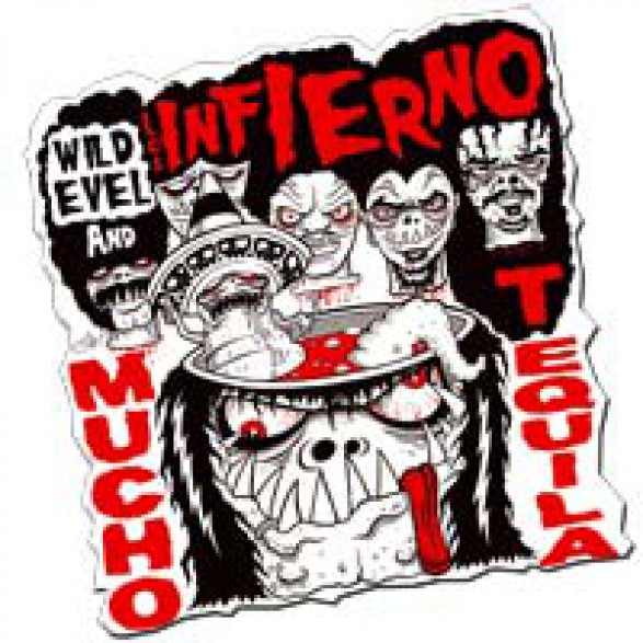 """WILD EVEL AND LOS INFIERNO """"Shape Series Vol.2"""" 10"""""""
