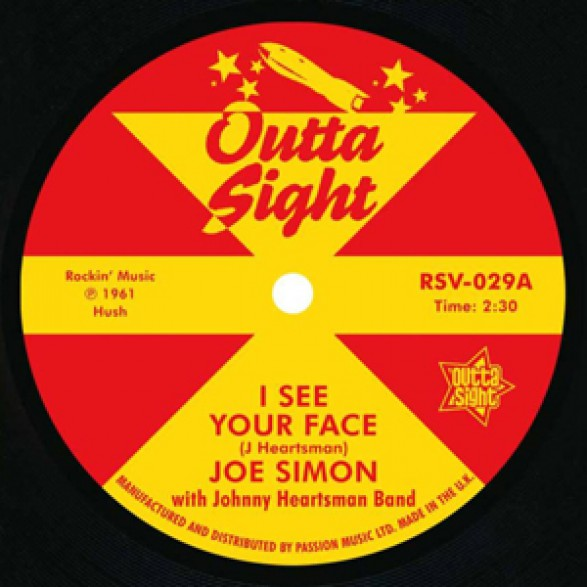 """JOE SIMON """"I See Your Face"""" / LEON PETERSON """"Searching"""" 7"""""""