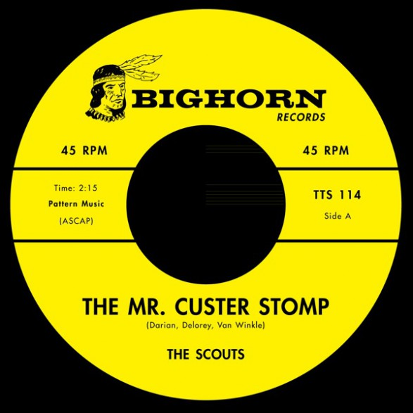 "SCOUTS / RUSTY ISABELL ""The Mr. Custerstomp / Firewater (Sew Dew)"" 7"""