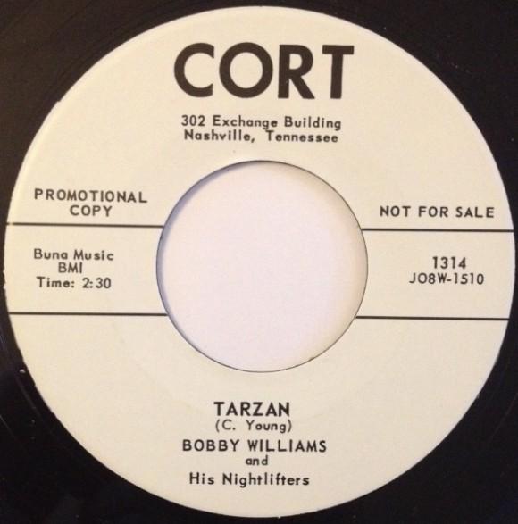 """BOBBY WILLIAMS """"TARZAN/IF DREAMS COME TRUE"""" 7"""""""