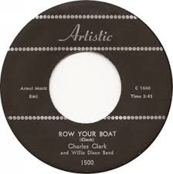 "CHARLES CLARK ""HIDDEN CHARMS/ROW YOUR BOAT"" 7"""