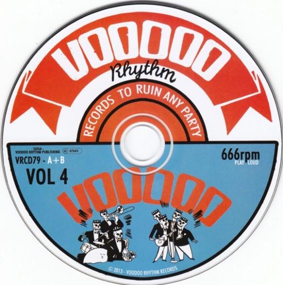 voodoo rhythm compilation volume 4 cd