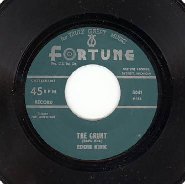 "EDDIE KIRK ""THE GRUNT / EVERY HOUR, EVERY MINUTE"" 7"""