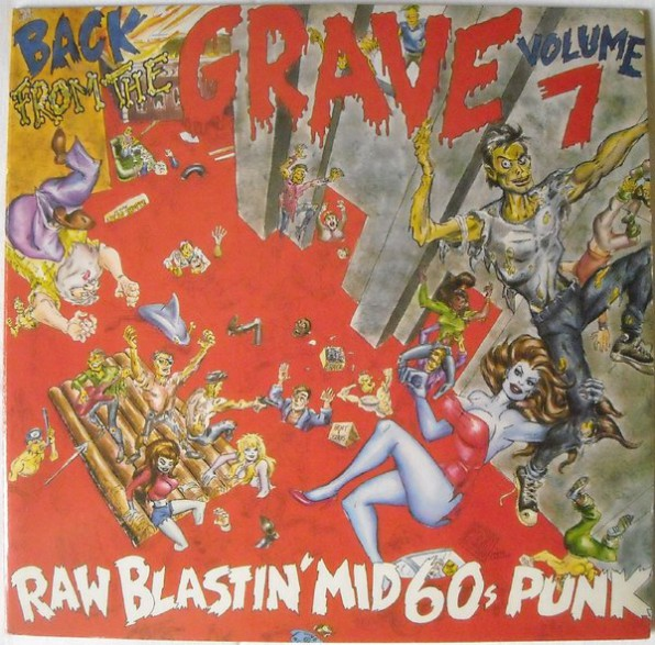 BACK FROM THE GRAVE Volume 7 Double LP