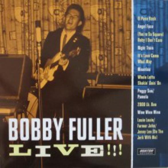 """BOBBY FULLER """"LIVE!!"""" LP"""