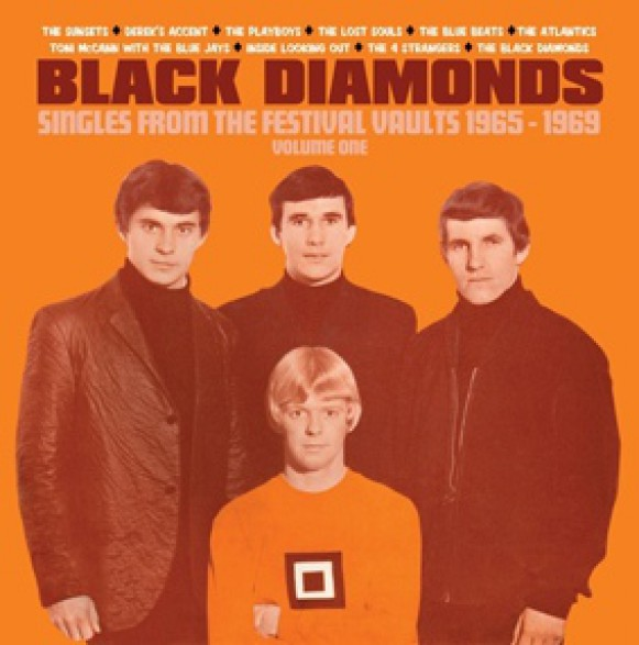 "BLACK DIAMONDS ""Singles From The Festival Vaults 1965-1969 Volume One"" 7"" BOX"