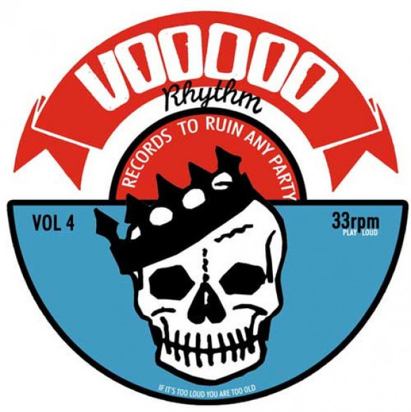 VOODOO RHYTHM COMPILATION VOL. 4 LP