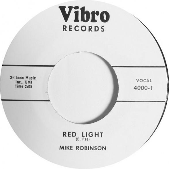 "MIKE ROBINSON ""Lula / Red Light"" 7"""