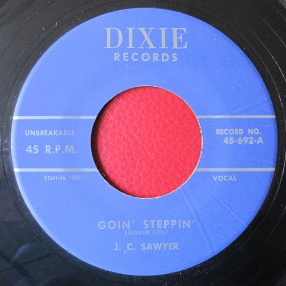 "ORANGIE RAY HUBBARD ""Sweet Love""/ J.C. SAWYER ""Goin' Steppin"" 7"""