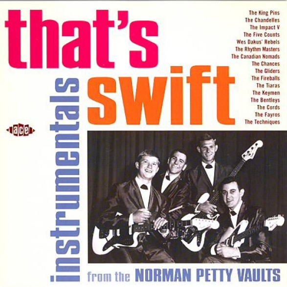 THAT'S SWIFT - Instrumentals From The Norman Petty Vaults CD