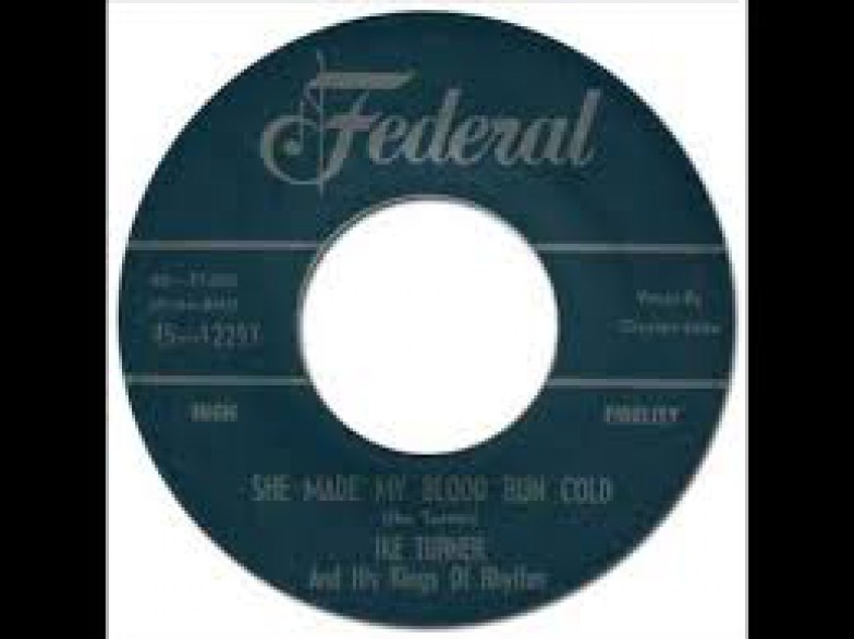 """IKE TURNER """"DO YOU MEAN IT/ SHE MADE MY BLOOD RUN COLD"""" 7"""""""