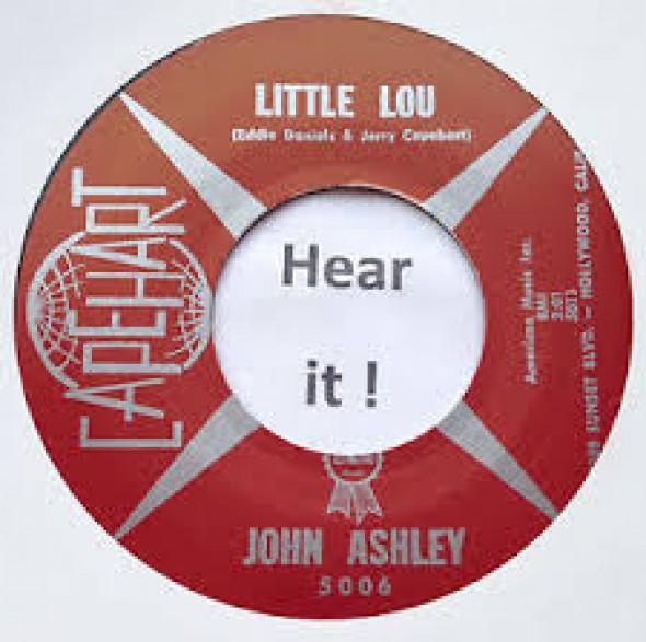 """JOHN ASHLEY """"Little Lou"""" 7"""""""