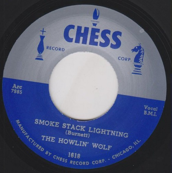 """HOWLIN WOLF """"SMOKESTACK LIGHTNING/ YOU CAN'T BE BEAT"""" 7"""""""