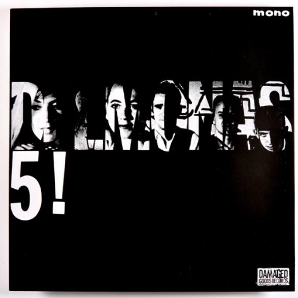 "DELMONAS ""THE DELMONAS 5!"" LP"