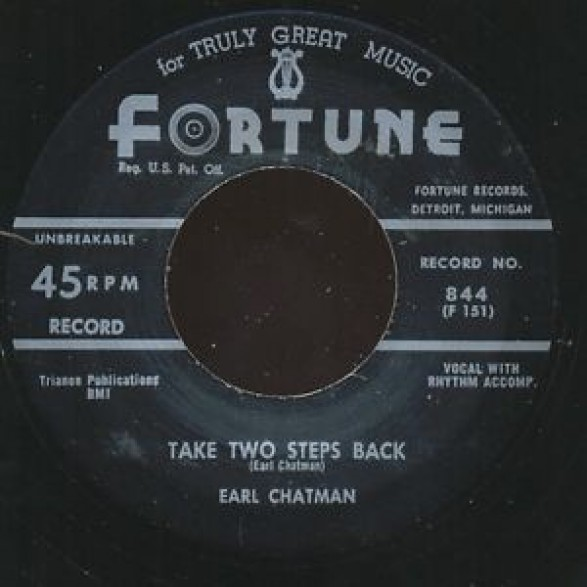 "EARL CHATMAN ""TAKE TWO STEPS BACK/ LOVING YOU BABY"" 7"""