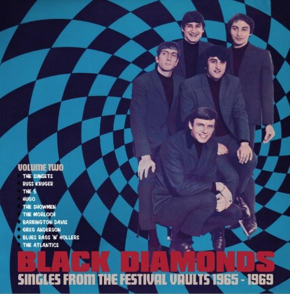 "BLACK DIAMONDS: Singles From The Festival Vaults 1965-1969 Volume TWO - 10x 7"" Box"