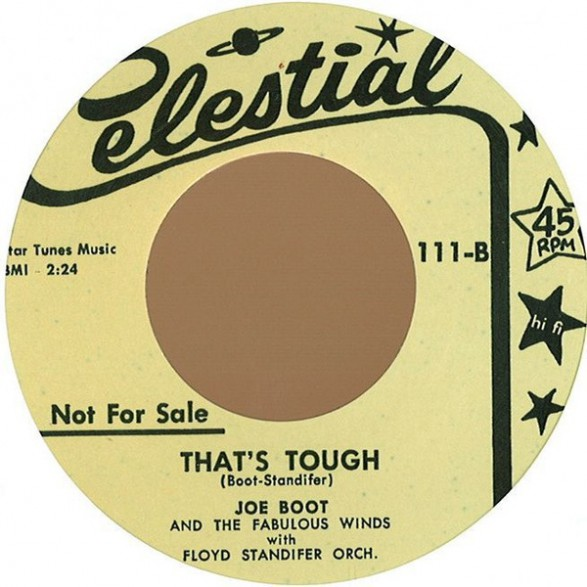 "JOE BOOT ""ROCK & ROLL RADIO/THAT'S TOUGH"" 7"""