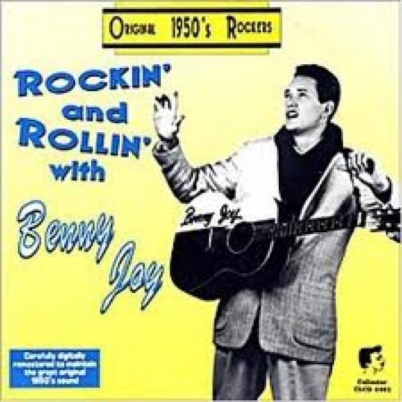 """JOY BENNY """"ROCKIN' WITH BENNY JOY"""" cd"""