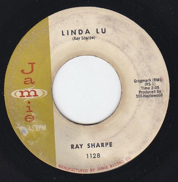 "RAY SHARPE ""LINDA LU / MONKEYS UNCLE"" 7"""