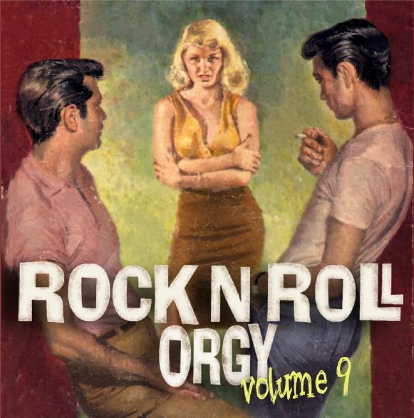 ROCK'N'ROLL ORGY VOLUME 9 CD