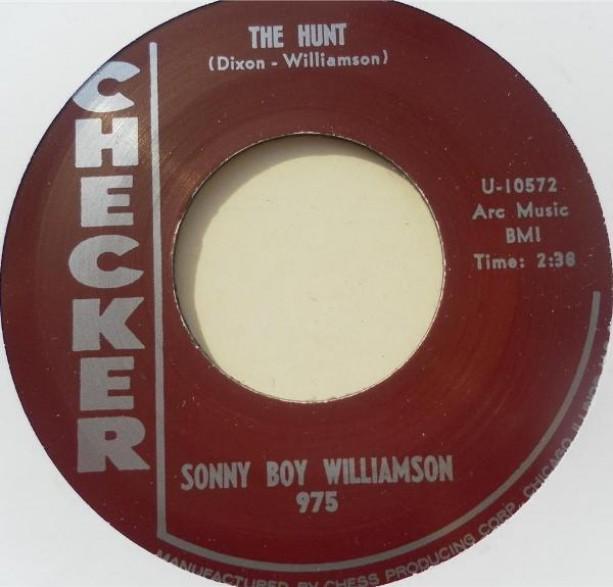 "SONNY BOY WILLIAMSON ""THE HUNT / LITTLE VILLAGE"" 7"""