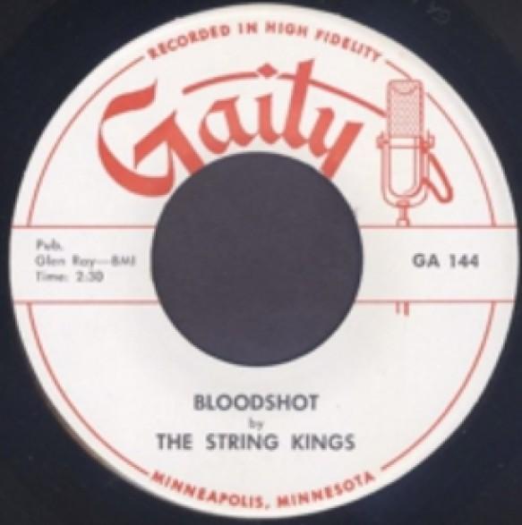 "STRING KINGS ""BLOODSHOT / THE BASH"" 7"""